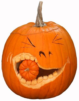 Pictures Of Funny Faces To Paint On Pumpkins
