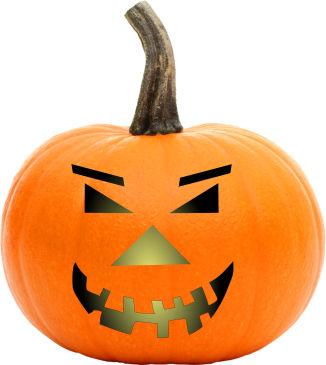 Halloween Kuerbis Druckvorlage.Schnitzvorlagen Fur Kurbisgesichter